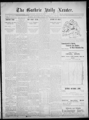 Primary view of object titled 'The Guthrie Daily Leader. (Guthrie, Okla.), Vol. 6, No. 16, Ed. 1, Sunday, June 23, 1895'.