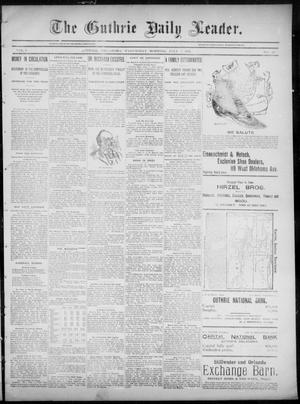 The Guthrie Daily Leader. (Guthrie, Okla.), Vol. 6, No. 23, Ed. 1, Wednesday, July 3, 1895