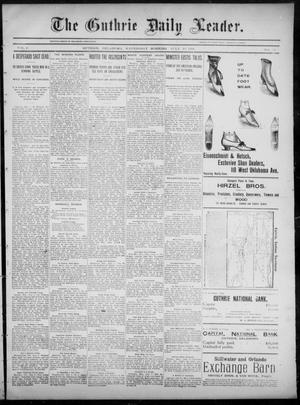 The Guthrie Daily Leader. (Guthrie, Okla.), Vol. 6, No. 29, Ed. 1, Wednesday, July 10, 1895