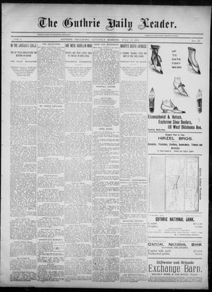 Primary view of object titled 'The Guthrie Daily Leader. (Guthrie, Okla.), Vol. 6, No. 32, Ed. 1, Saturday, July 13, 1895'.