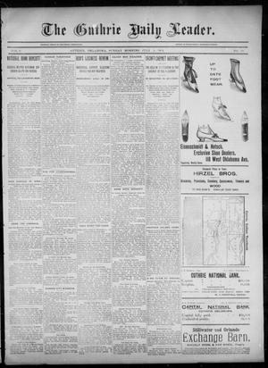 Primary view of object titled 'The Guthrie Daily Leader. (Guthrie, Okla.), Vol. 6, No. 39, Ed. 1, Sunday, July 21, 1895'.