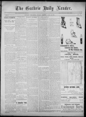 Primary view of object titled 'The Guthrie Daily Leader. (Guthrie, Okla.), Vol. 6, No. 43, Ed. 1, Friday, July 26, 1895'.