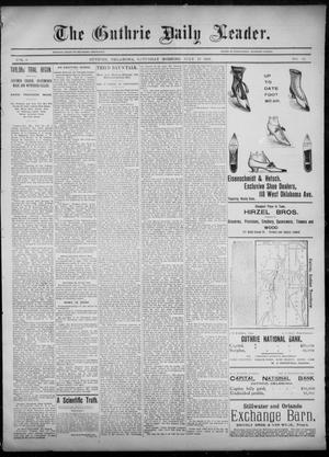 The Guthrie Daily Leader. (Guthrie, Okla.), Vol. 6, No. 44, Ed. 1, Saturday, July 27, 1895