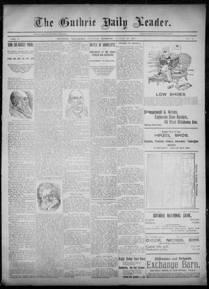 Primary view of object titled 'The Guthrie Daily Leader. (Guthrie, Okla.), Vol. 6, No. 63, Ed. 1, Tuesday, August 20, 1895'.