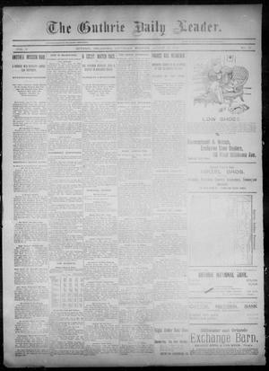 Primary view of object titled 'The Guthrie Daily Leader. (Guthrie, Okla.), Vol. 6, No. 67, Ed. 1, Saturday, August 24, 1895'.