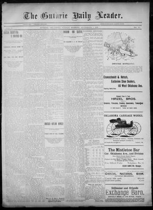 Primary view of object titled 'The Guthrie Daily Leader. (Guthrie, Okla.), Vol. 6, No. 79, Ed. 1, Sunday, September 8, 1895'.