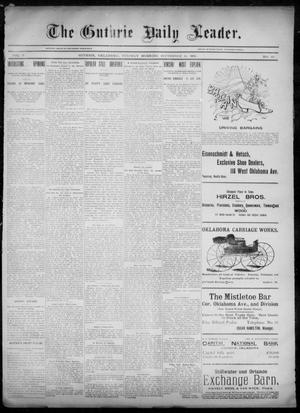 Primary view of object titled 'The Guthrie Daily Leader. (Guthrie, Okla.), Vol. 6, No. 80, Ed. 1, Tuesday, September 10, 1895'.