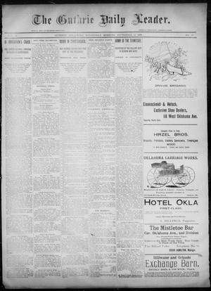 Primary view of object titled 'The Guthrie Daily Leader. (Guthrie, Okla.), Vol. 6, No. 88, Ed. 1, Wednesday, September 18, 1895'.