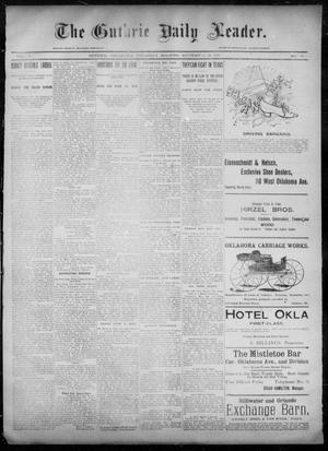 Primary view of object titled 'The Guthrie Daily Leader. (Guthrie, Okla.), Vol. 6, No. 89, Ed. 1, Thursday, September 19, 1895'.