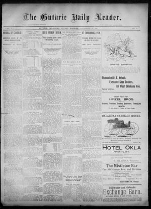 Primary view of object titled 'The Guthrie Daily Leader. (Guthrie, Okla.), Vol. 6, No. 92, Ed. 1, Sunday, September 22, 1895'.