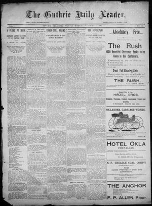 Primary view of object titled 'The Guthrie Daily Leader. (Guthrie, Okla.), Vol. 6, No. 140, Ed. 1, Tuesday, November 19, 1895'.