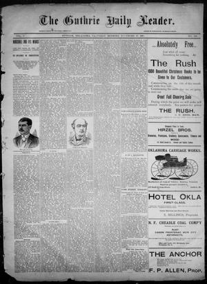 Primary view of object titled 'The Guthrie Daily Leader. (Guthrie, Okla.), Vol. 6, No. 144, Ed. 1, Saturday, November 23, 1895'.