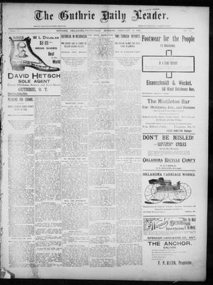 Primary view of object titled 'The Guthrie Daily Leader. (Guthrie, Okla.), Vol. 7, No. 65, Ed. 1, Wednesday, February 26, 1896'.
