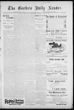 The Guthrie Daily Leader. (Guthrie, Okla.), Vol. 7, No. 113, Ed. 1, Wednesday, April 22, 1896