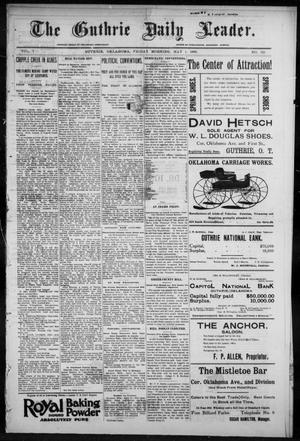The Guthrie Daily Leader. (Guthrie, Okla.), Vol. 7, No. 121, Ed. 1, Friday, May 1, 1896