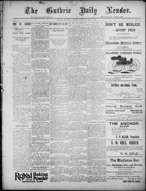 Primary view of object titled 'The Guthrie Daily Leader. (Guthrie, Okla.), Vol. 7, No. 140, Ed. 1, Saturday, May 23, 1896'.