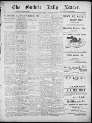 Primary view of object titled 'The Guthrie Daily Leader. (Guthrie, Okla.), Vol. 7, No. 141, Ed. 1, Sunday, May 24, 1896'.
