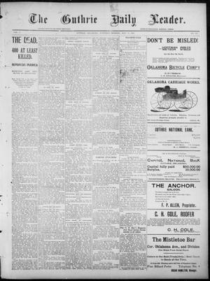 Primary view of object titled 'The Guthrie Daily Leader. (Guthrie, Okla.), Vol. 7, No. 146, Ed. 1, Saturday, May 30, 1896'.