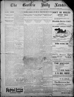 Primary view of object titled 'The Guthrie Daily Leader. (Guthrie, Okla.), Vol. 7, No. 149, Ed. 1, Thursday, June 4, 1896'.