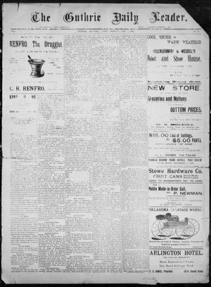 The Guthrie Daily Leader. (Guthrie, Okla.), Vol. 8, No. 16, Ed. 1, Friday, June 19, 1896