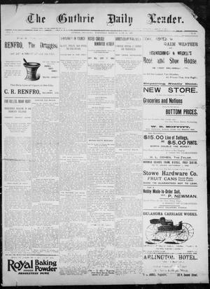The Guthrie Daily Leader. (Guthrie, Okla.), Vol. 8, No. 20, Ed. 1, Wednesday, June 24, 1896