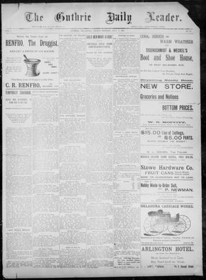 The Guthrie Daily Leader. (Guthrie, Okla.), Vol. 8, No. 28, Ed. 1, Friday, July 3, 1896