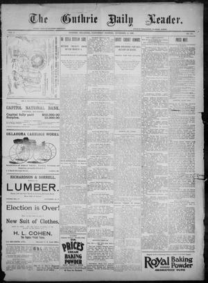 The Guthrie Daily Leader. (Guthrie, Okla.), Vol. 8, No. 150, Ed. 1, Wednesday, November 25, 1896