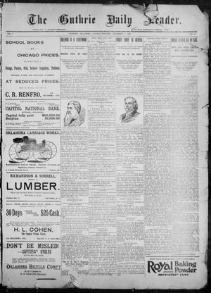 Primary view of The Guthrie Daily Leader. (Guthrie, Okla.), Vol. 9, No. 12, Ed. 1, Sunday, December 13, 1896