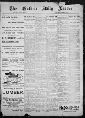 The Guthrie Daily Leader. (Guthrie, Okla.), Vol. 9, No. 21, Ed. 1, Thursday, December 24, 1896