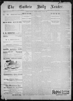 The Guthrie Daily Leader. (Guthrie, Okla.), Vol. 9, No. 31, Ed. 1, Thursday, January 7, 1897