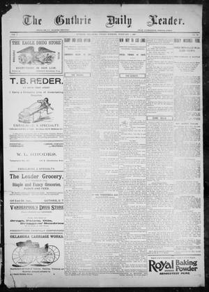 The Guthrie Daily Leader. (Guthrie, Okla.), Vol. 9, No. 56, Ed. 1, Friday, February 5, 1897