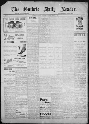 The Guthrie Daily Leader. (Guthrie, Okla.), Vol. 9, No. 89, Ed. 1, Wednesday, March 17, 1897