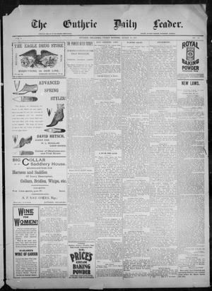 The Guthrie Daily Leader. (Guthrie, Okla.), Vol. 9, No. 97, Ed. 1, Friday, March 26, 1897