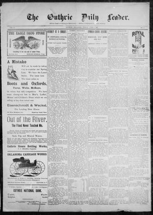 The Guthrie Daily Leader. (Guthrie, Okla.), Vol. 10, No. 4, Ed. 1, Friday, June 4, 1897