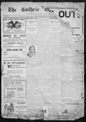 Primary view of object titled 'The Guthrie Daily Leader. (Guthrie, Okla.), Vol. 11, No. 4, Ed. 1, Saturday, December 4, 1897'.