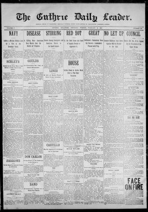 Primary view of object titled 'The Guthrie Daily Leader. (Guthrie, Okla.), Vol. 12, No. 228, Ed. 1, Thursday, February 16, 1899'.