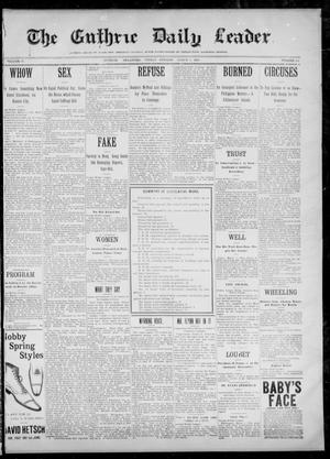 The Guthrie Daily Leader. (Guthrie, Okla.), Vol. 12, No. 241, Ed. 1, Friday, March 3, 1899