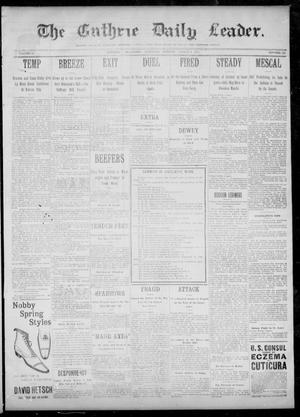 The Guthrie Daily Leader. (Guthrie, Okla.), Vol. 12, No. 242, Ed. 1, Saturday, March 4, 1899