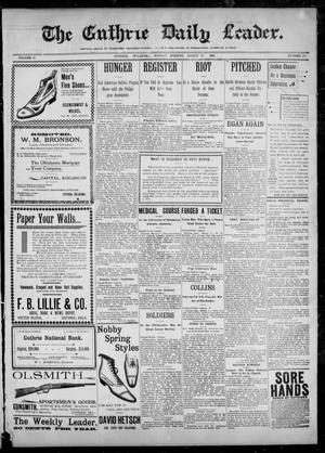 The Guthrie Daily Leader. (Guthrie, Okla.), Vol. 12, No. 261, Ed. 1, Monday, March 27, 1899