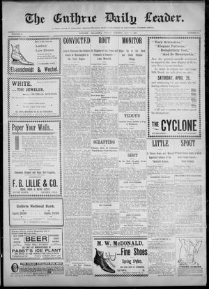 The Guthrie Daily Leader. (Guthrie, Okla.), Vol. 12, No. 294, Ed. 1, Friday, May 5, 1899