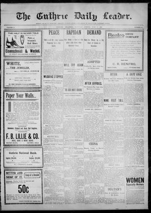 The Guthrie Daily Leader. (Guthrie, Okla.), Vol. 12, No. 320, Ed. 1, Saturday, June 17, 1899