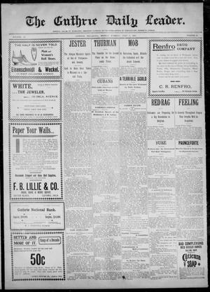 Primary view of The Guthrie Daily Leader. (Guthrie, Okla.), Vol. 14, No. 28, Ed. 1, Monday, July 3, 1899
