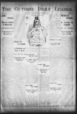 The Guthrie Daily Leader. (Guthrie, Okla.), Vol. 16, No. 113, Ed. 1, Wednesday, October 10, 1900