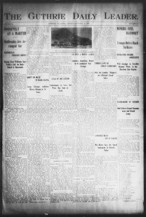 The Guthrie Daily Leader. (Guthrie, Okla.), Vol. 16, No. 117, Ed. 1, Tuesday, October 16, 1900