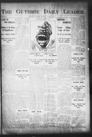 Primary view of object titled 'The Guthrie Daily Leader. (Guthrie, Okla.), Vol. 16, No. 121, Ed. 1, Monday, October 22, 1900'.