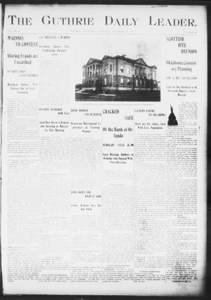 The Guthrie Daily Leader. (Guthrie, Okla.), Vol. 16, No. 148, Ed. 1, Thursday, November 22, 1900