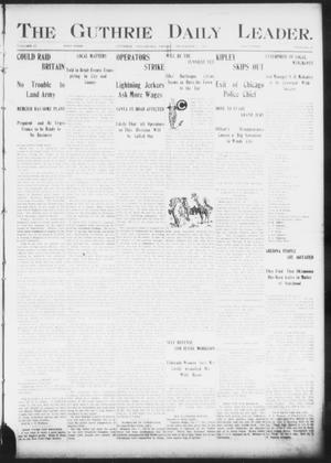 The Guthrie Daily Leader. (Guthrie, Okla.), Vol. 17, No. 10, Ed. 1, Friday, December 7, 1900