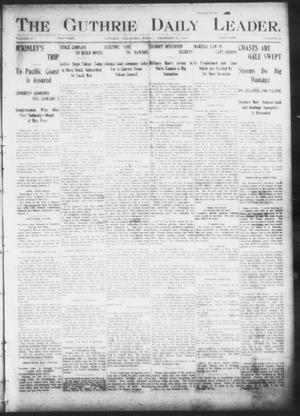 The Guthrie Daily Leader. (Guthrie, Okla.), Vol. 17, No. 22, Ed. 1, Friday, December 21, 1900