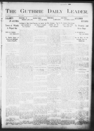 The Guthrie Daily Leader. (Guthrie, Okla.), Vol. 17, No. 27, Ed. 1, Friday, December 28, 1900