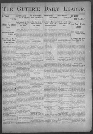 Primary view of object titled 'The Guthrie Daily Leader. (Guthrie, Okla.), Vol. 17, No. 119, Ed. 1, Saturday, April 13, 1901'.